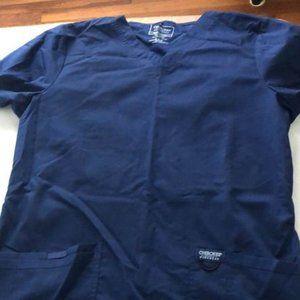 Cherokee Workwear Navy Scrub set